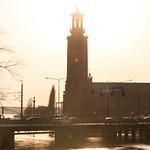 Sunset Haze on Stockholm's stadshus thumbnail