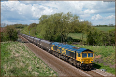 Clarborough Junction (Resilient741) Tags: class 66 66742 gbrf great britain railfreight freight train rail rails railway railways clarborough jnc retford diesel loco locomotive imported coal service br