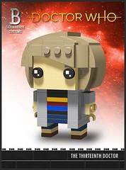 Custom BrickHeadz   The 13th Doctor (Barbabrique) Tags: lego doctor who custom minifig brick brickheadz barbabrique barba jodie whittaker peter capaldi 13 thirteen thirteenth