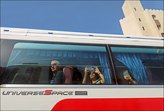 Universe Space - Muscat, Oman (TravelsWithDan) Tags: streetphotography theotherphotographer candid bus lookingup canong9x muscat oman ngc