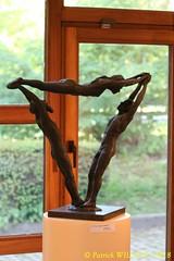 IMG_8096 (Patrick Williot) Tags: exposition vernissage ecuries sculpteur michal peintre genevieve nicolas