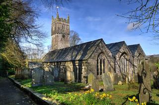 St Dominica's Church, St Dominick, Cornwall