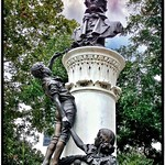 New Orleans Louisiana - Statue of John McDonogh in Lafayette Square, thumbnail