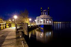 River Star - Zingst, Mecklenburg-Vorpommern (dejott1708) Tags: zingst night shot excursion boat mecklenburgvorpommern long exposure