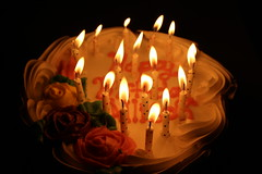 20180501193544_IMG_0491 (allison6briss) Tags: flame candles birthday cake lowlight