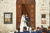 The Happy Bride and The Groom Who Can't Believe His Good Fortune.    Assisi, Italy (Herculeus.) Tags: lace cameras photographers umbria goodfortune happiness smiles bridalparty outdoors outdoor landscape outside day cityhall italy assisi wedding weddings couple people posed 5photosaday
