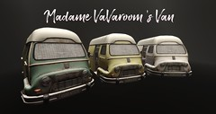 Madame Vava Room's Vanpreview (Bluesean Yiyuan) Tags: rld van redlightdistrict district amsterdam french car couple animations seconlife second life avatars decoration mesh bed vintage old bloggers slbloggers mens womens