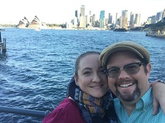 Heather and Tony in Australia | MouseMingle.com