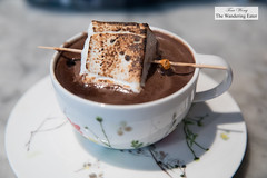 Hot chocolate with torched housemade marshmallow (thewanderingeater) Tags: sundayinbrooklyn brunch williamsburg nyc brooklyn
