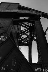 Egerton Bridge (frisiabonn) Tags: wirral liverpool england uk britain marine mersey merseyside sea waterfront maritime outdoor birkenhead bascule egerton bridge unused old rundown