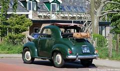 Fiat 500C Topolino 1952 (XBXG) Tags: jt9448 fiat 500c topolino 1952 fiat500c 500 c fiattopolino green vert schoorl schoorldam warmenhuizen schagen nederland holland netherlands paysbas vintage old classic italian car auto automobile voiture ancienne italienne italie italia italy vehicle outdoor