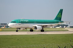 Aer Lingus (anthonymurphy5) Tags: travel transport planespotting planephotography airport outside aerlingus eicvb airbusa320200 manchesterairport 70518