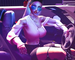 I know I've got a big ego I really don't know why it's such a big deal, though... (ᵛ Mσяgαη Ɗ'Aмσяє ᵛ) Tags: avatar avatars avi love car fast girl life second secondlife virtual yesplease sexy sex cute girly pink hourglass spirit jeans glasses pixels sl 2life