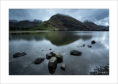 Interlude V (Frank Hoogeboom) Tags: unitedkingdom uk lakedistrict brotherswater landscape waterscape lake lakes british sky rocks mountain river water rock england color reflection mirror fineart longexposure