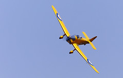 Magister (Bernie Condon) Tags: uk british shuttleworth collection oldwarden airfield airshow display aviation aircraft plane flying 100yearsoftheroyalairforceairshow milesmagister miles magister trainer raf royalairforce military vintage preserved classic shuttleworthcollection historic