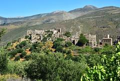 Vathia (orientalizing) Tags: architecture greece landscape mani southernmani southernpeloponnese towerhouses traditional vathia village
