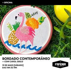 Oficina de Bordado Contemporâneo (Carol Grilo • FofysFactory®) Tags: oficina fofysfactory florianópolis carolgrilo workshop bordado embroidery
