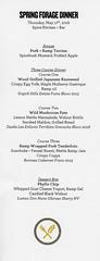 Spring Forage Dinner at Spice (Edsel L) Tags: ben bebenroth jeremy umansky foraging spice kitchen bar benbebenroth jeremyumansky spicekitchenbar cleveland ohio unitedstates us