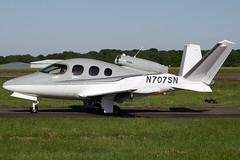 n707sn sf50 egkb (Terry Wade Aviation Photography) Tags: sf50 egkb