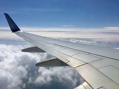 ボーイング737−800 Boeing737-800 (ELCAN KE-7A) Tags: 日本 japan 飛行機 airplane ボーイング boeing 737 b737 800 雲 cloud アップル アイフォーン apple iphone jal jl airlines 空 sky