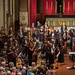 DSCN0186left Ealing Symphony Orchestra take a bow after playing Symphony No. 4 by George Lloyd. Leader Peter Nall, Conductor John Gibbons. St Barnabas Church, west London. 19th May 2018