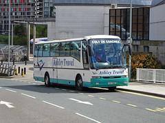 Ashley CAZ5866 Sheffield (Guy Arab UF) Tags: ashley travel renishaw caz5866 volvo b10m62 berkhof axial coach bus ponds forge sheffield south yorkshire independent buses r909ula q drive battersea