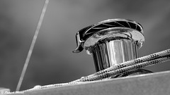 In the sky (patrick_milan) Tags: winch ship boat treuil metal rop bateau voilier