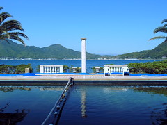 Awashima Marine Park 淡島釣堀 (: : Ys [waiz] : :) Tags: ricoh grd grd4 あわしまマリンパーク 淡島 沼津市 numazu 静岡県 shizuoka 日本 japan 海 sea water blue