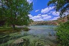 Lagoon Redondilla Spring 2018 (Peideluo) Tags: landscape lagoon tree sky clouds water nature paisaje agua río cielo árbol nikon d7100