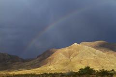 North Franklin Peak (Davor Desancic) Tags: franklinmountainsstatepark franklin mountains state park elpaso rainbow storm northfranklinpeak