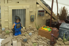 Trader on Tatooine (Ben Cossy) Tags: lego jawa tatooine moc afol tfol minifig fig sand star wars rebels a galaxy far away
