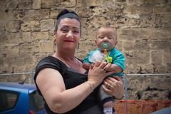 Madonna con bambino (chipje) Tags: street grandmother baby posing portrait proud palermo sicily italy