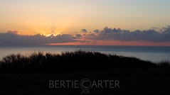 Dawn on the Sussex coast (bertie.carter.photography) Tags: sunrise sussex coast clouds colourful seaford beachyhead dawn firstlight