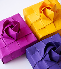 Origami Kawasaki Rose Box Tutorial (Judith Magen) Tags: origami kawasaki rose box tutorial