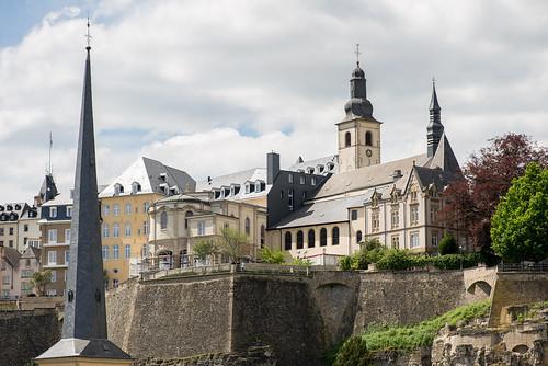 Luxembourg. Ville Haute