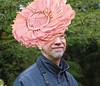 Just back from the royal wedding. (sea turtle) Tags: photoshop hat camilla pink seaturtle smile