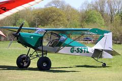 G-SSTL (GH@BHD) Tags: gsstl justaircraft superstol pophammicrolighttradefair2018 pophamairfield popham microlight aircraft aviation