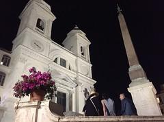 Notti romane (ioriogiovanni10) Tags: night turist iphone roma light goodnight primavera capitale città city notte rome trinitàdeimonti piazzadispagna