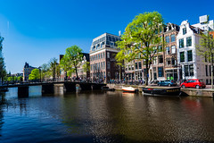 An Amsterdam Canal (Brian Out and About) Tags: nikon d5200 ©brianblair2018 amsterdam canals daytime waterway spring europe travel explore