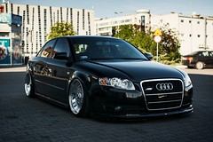 In the shadow (mateusz.jedrak1) Tags: audi a4 car wroclaw