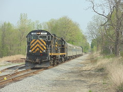 DSC06355 (mistersnoozer) Tags: lal shortline railroad rr rgvrrm excrusion train alco locomotive c425
