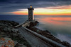 Le gardien (Ludovic Lagadec) Tags: finistere lighthouse light longexposure ludoviclagadec seascape sea sky sunset bretagne breizh brittany beach kermorvan leconquet coucherdesoleil colors phare