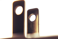 low angle (maotaola) Tags: lowangle plugsandjacks flickrfriday macromondays minimal abstract mono ángulobajo geometriccomposition macro canoneos electricalplug