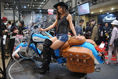 Tokyo Motorcycle Show 2018 (ジェローム) Tags: tokyomotorcycleshow odaiba tokyo japan japanese girl woman asia asian motorcycle