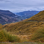 View to Queenstown from The Crown Range Summit Lookout thumbnail