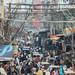 Bustling New Delhi India