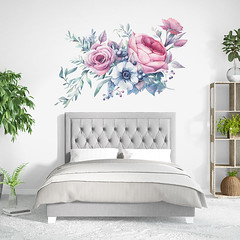 Vinilo Bouquet Floral (papelespintados) Tags: vinilosdecorativos vinilosrevolutionswalls vinilosparaparedes vinilosimpresionycorte decorarconvinilos papelpintado decorar vinilosinfantiles modernos florales