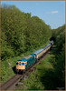 Crompton in the Cutting (Resilient741) Tags: class 33 crompton br blue portrait photo photography gcr great central railway rails british rail railways leicestershire leicester north birstall loughborough road cuting train trains cutting