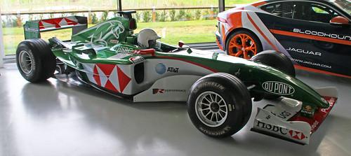2004 Jaguar R5 F1 racing car