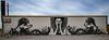 Shesha Sand Storm on Desert Shores Gorcery Wall (Chuck Holland) Tags: california saltonsea mural sheshasandstorm desert abandoned painting women surreal fantasy christineangelina female desertshores findac
